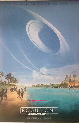 Rogue One A Star Wars Story ORIGINAL 27x40 DS POSTER 1sheet 2 sided INT'L new