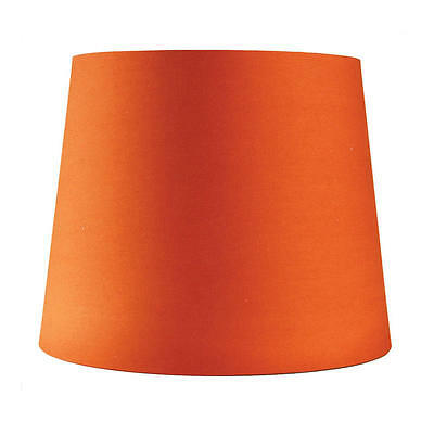 Acc. - Shade Table Lamp Cotton 9‐11‐9 E27 Burnt Orange Oriel Lighting OL91825
