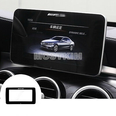 Acrylic Inner GPS Navigation Screen Protector Cover For Benz GLC X205 2015-2017