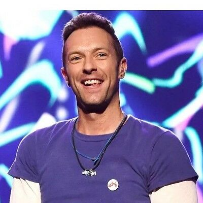 Chris Martin Coldplay The Brits Love Badges Pins Buttons