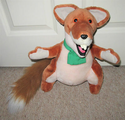 "Official Basil Brush Talking Plush 12"" Hasbro Soft Toy With Sound"