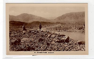 KHYBER PASS NWFP: India postcard (C27996)