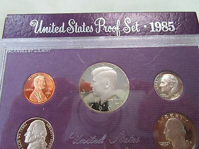 1985 USA Proof Set of Coins.