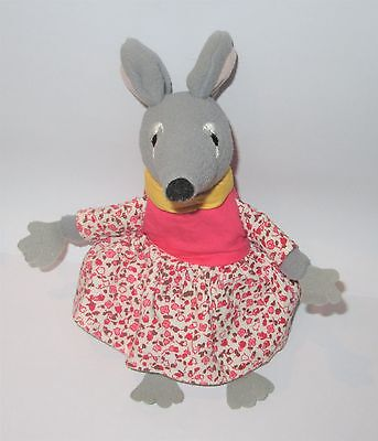 """Official Bagpuss Lizzie Organ Mouse 7"""" Plush Soft Toy"""