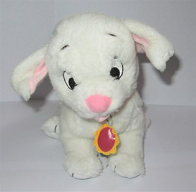 "Official Disney 102 Dalmatians Oddball Puppy Non-Spotted Dog Plush 10"" Soft Toy"