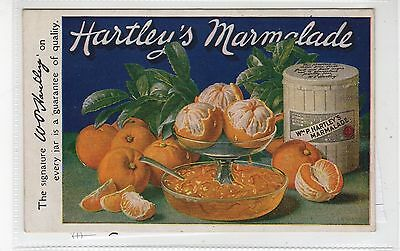 HARTLEY'S MARMALADE: Poster type advertising postcard (C27484)