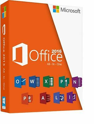 2016 Microsoft Office Professional  Sealed box  key and DVD in box by post