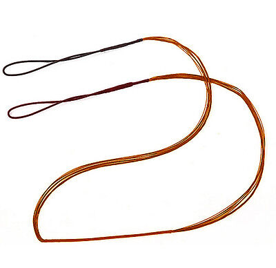 49-58inch Bow String Archery Bowstrings Black For Recurve Bow Longbow
