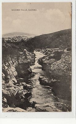 MACHRIE FALLS, MACHRIE: Isle of Arran postcard (C27846)