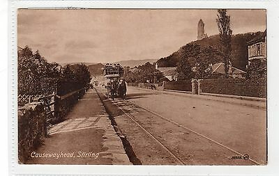 CAUSEWAYHEAD, STIRLING: Stirlingshire postcard (C27873)