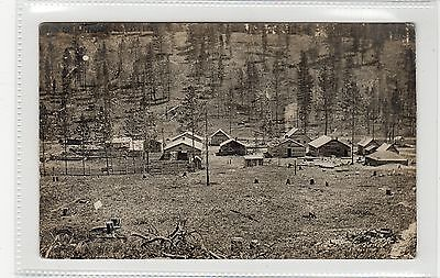 Uncaptioned picture postcard with ELKO BC postmark (C27563)