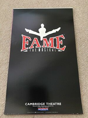 Fame The Musical Theatre Poster
