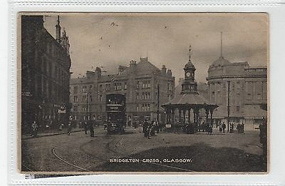 BRIDGETON CROSS: Glasgow postcard (C27931)