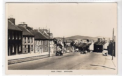 MAIN STREET, WHITHORN: Wigtownshire postcard (C27251)