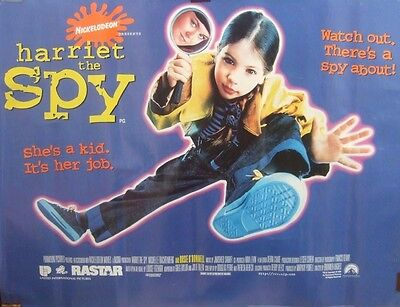 HARRIET THE SPY(1995) Original rolled UK quad movie poster UK POST FREE