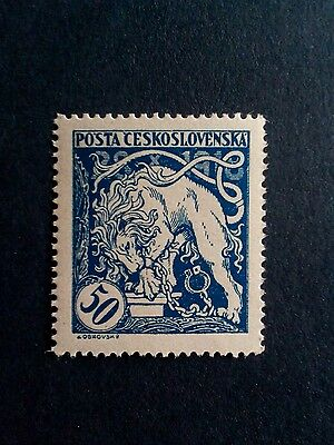 Czechoslovakia stamp - unused - 1919 - 1st anniversary of Independence.