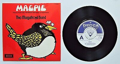The Murgatroyd Band - Magpie / Twice A Week - 1971 DECCA Promo (VG+/EX)
