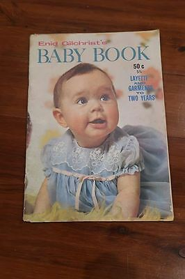 Enid Gilchrist baby book pattern book sewing pattern vintage book