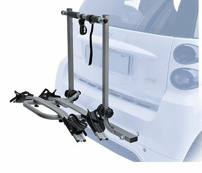 PERUZZO bicycle rear carrier 630 smart rack 2 bikes