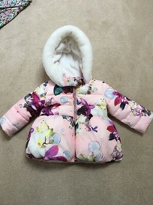 Girls Ted Baker Coat 9-12 Month