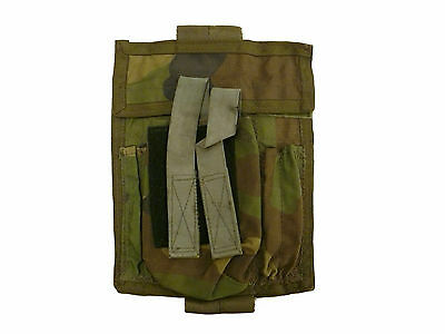 Old School Woodland Camo Commander/Admin Panel/Pouch #2 (LBT/Eagle Industries)