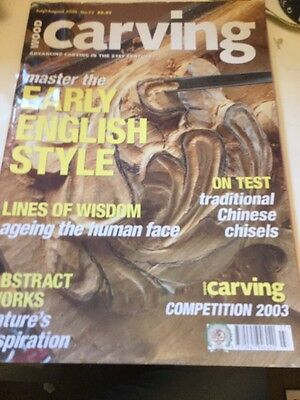 Wood Carving Magazine 2003