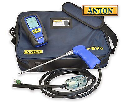 Anton Sprint eVo 2 Flue Gas Analyser, With Gas Leak Detector & Certificate