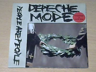 """7"""" DEPECHE MODE * People Are People / In Your Memory (RED VINYL)"""