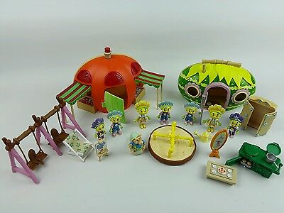 Fifi & the Flowertots Playset Bundle - 2 x House Play Sets Figures & Accessories
