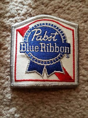 Pabst Blue Ribbon Beer Embroidered Patch - Rare