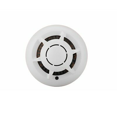 Wi-Fi 1080P 2.0MP Smoke Detector Camera with Motion Detection and Night Vision