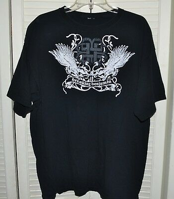 Breaking Benjamin 2007 Tour Supporting Phobia Album Size Xl Great Condition