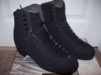Jackson Elite Supreme DJ3952 Figure Skates Black Suede BOOT ONLY - 11M- FREE P&P