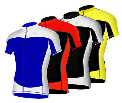 Men's Cycling Half Sleeve Jersey Breathable Lightweight Biking Tops