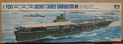 Aoshima Japanese Aircraft Carrier UNRYU 1/700