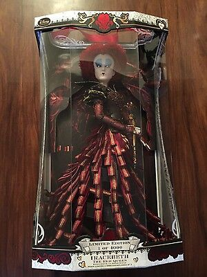 "DISNEY Alice Through The Looking Glass Iracebeth The Red Queen 17"" Doll"