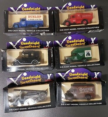 Lledo Set of Goodnight Sweetheart Model Diecast Vehicles - BBC Collection Cars
