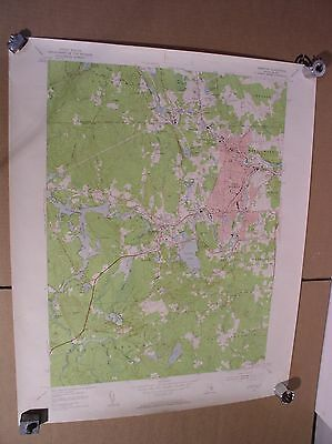 Crompton West Warwick Coventry East Greenwich Rhode Island USGS Quad Map 1957