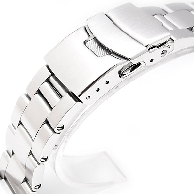 *BEST Stainless Steel Watch Strap Wrist Band For SEIKO Diver SKX007/009/011 NEW