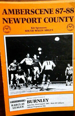 Newport V Bolton 3/11/1987 League Last Season