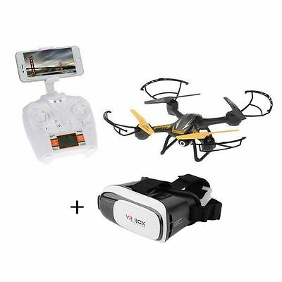 Rc Quadricottero TK107 Wifi Camera 3D Drone FPV Altitude Hold + VR GLASS