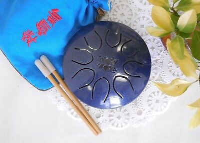 "WuYou 5"" 13cm  Chakra Drum UFO series - Gem Lotus, Meolodies anywhere anytime!"