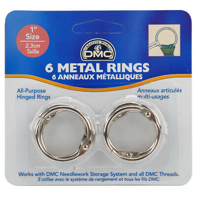 "DMC U1548 Metal Rings 1""-6/Pkg (6Pk)"