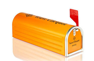 Veuve Clicquot Mailbox Collectable Limited Edition Courrier letter VCP empty