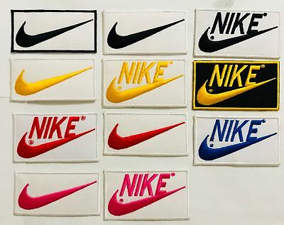 Nike embroidered iron on sew on patch badge logo sports Shirts Jeans 274 275