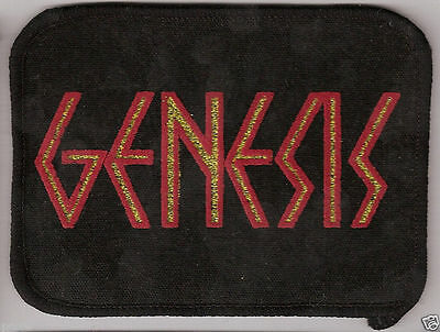 "Vintage,""Genesis"" Cloth Patch-Badge  from London - UK in  the 1970's"