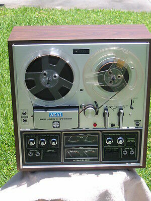 Vintage Akai 1730D-SS 4 Channel  Reel to Reel Tape Recorder