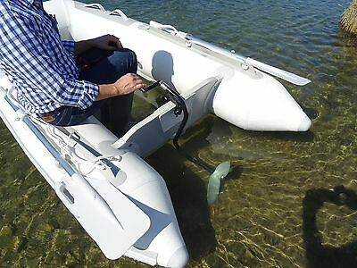 Hand Operated Outboard Trolling Motor For Small Boat,,, Vat & Duties Paid For Eu