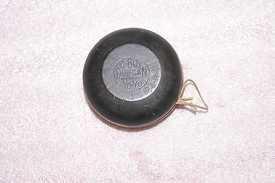 Vintage Duncan O Boy Yo Yo Black and Red Wooden 1950s