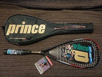Prince Power Ring Ultra Extender 100% graphite squash extender competitor series